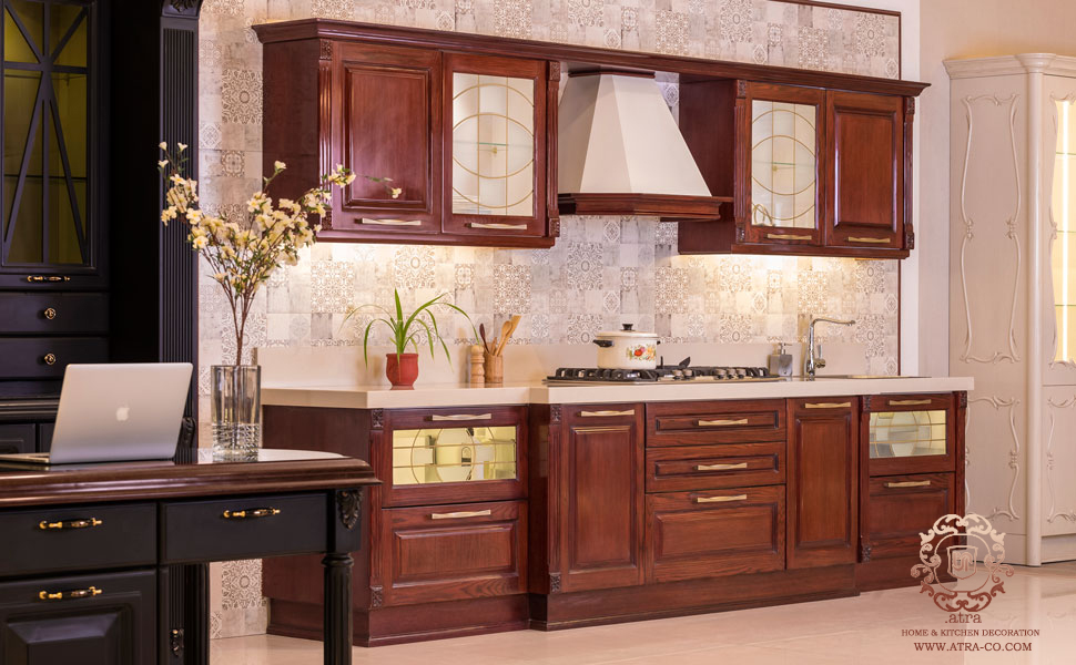 Armode, a classic wooden kitchen cabinet