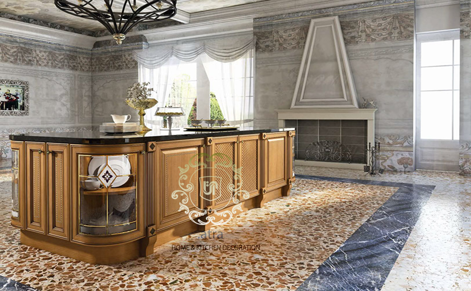 Milan model of kitchen cabinets