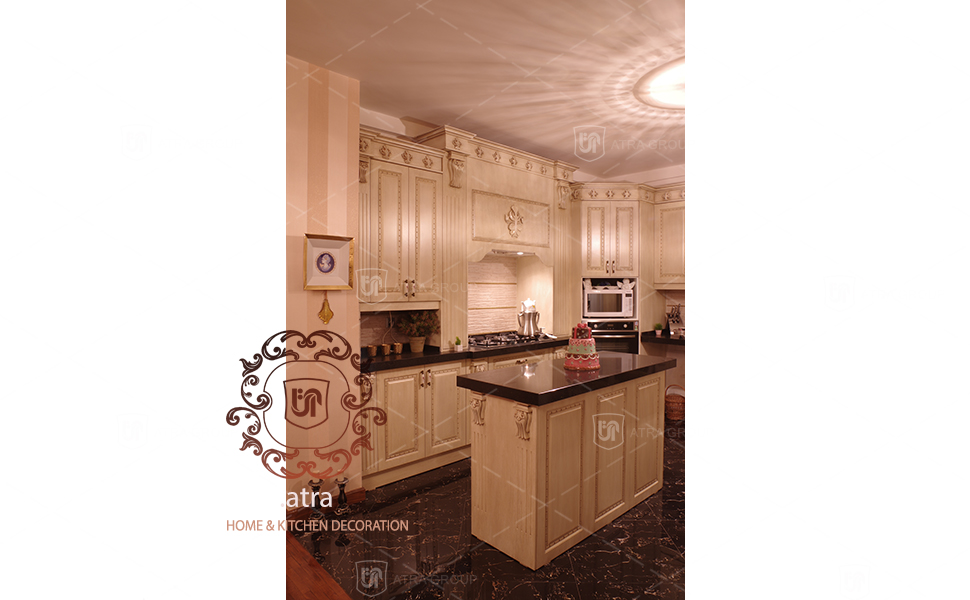 Kitchen decoration, Bahonar blvd, Mashhad, Atra interior design group