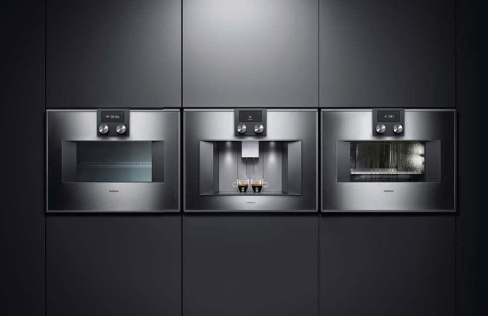 Gaggenau is a manufacturer of appliances, Atra interior design group