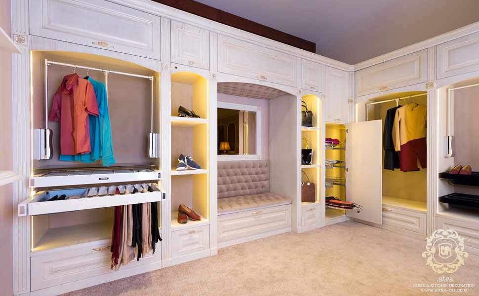 Wooden Wardrobe Decoration and Closet