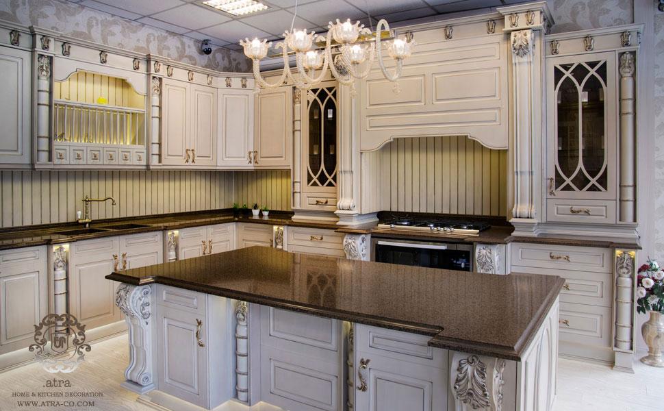 نمایشگاه دکوراسیون داخلی و دکوراسیون آشپزخانه کلاسیک و مدرن آترا