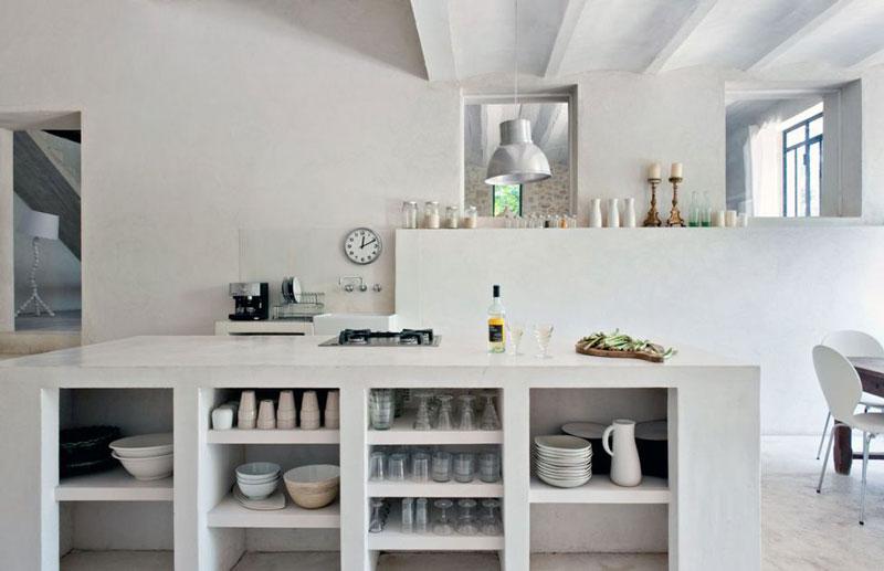 آشپزخانه مطلوب افراد ساده گرا، گروه طراحی دکوراسیون داخلی آترا مشهد