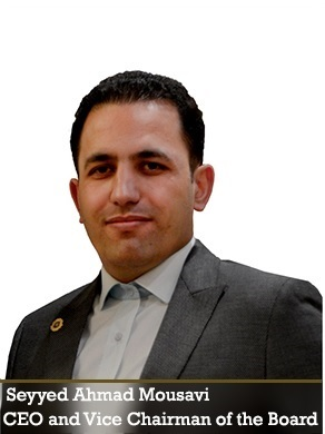 Seyyed Ahmad Mousavi. CEO and vice chairman of the board.