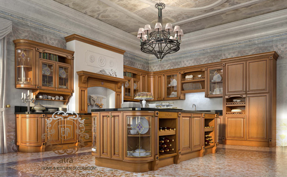 Milan is a Classic kitchen cabitet represented by Atra interior design group