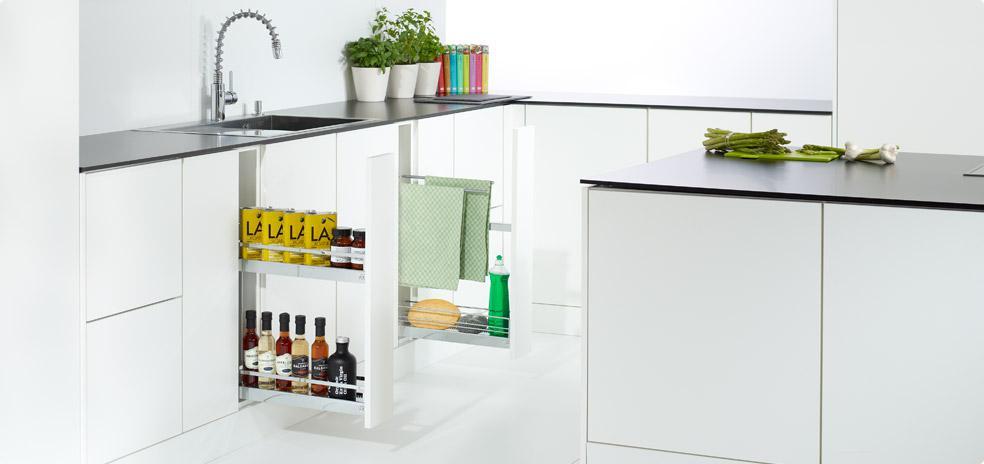 kessebehmer تولید کننده اتصالات کابینت های آشپزخانه، گروه طراحی دکوراسیون داخلی آترا مشهد
