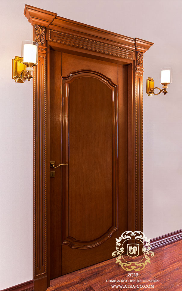 classic inlaid oak doors