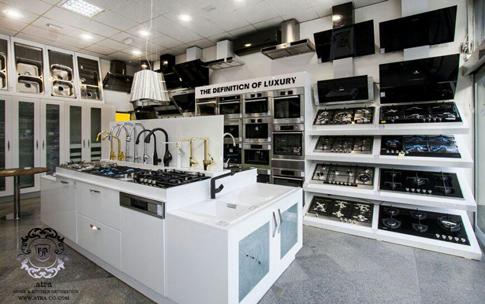 فروشگاه اکسسوری و لوازم توکار آشپزخانه