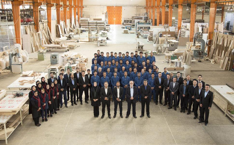 افتتاحیه کارخانه تولیدی صنایع چوب آترا