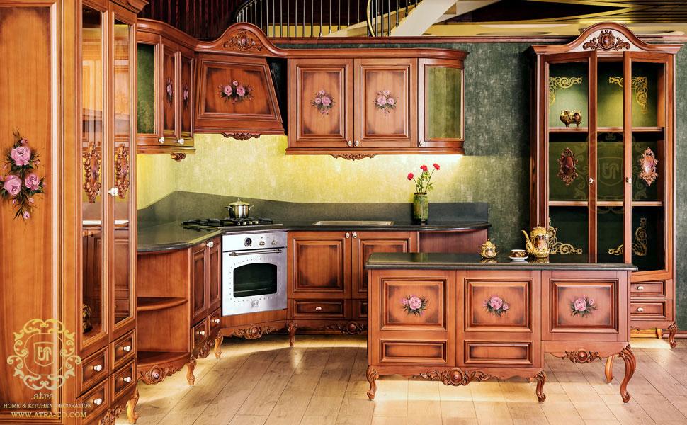 کابینت آشپزخانه مشهد مدل الیزابت