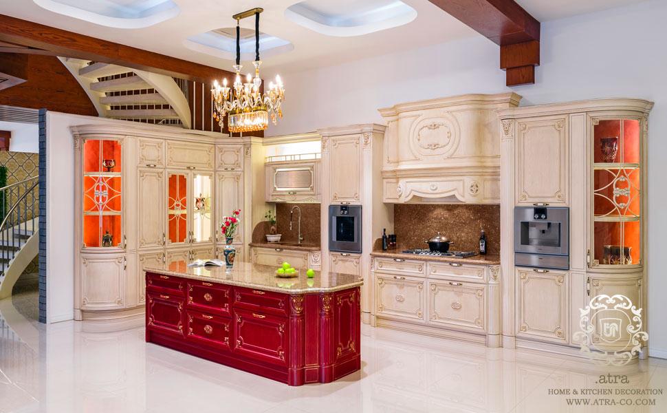 کابینت آشپزخانه مشهد مدل ویکتوریا