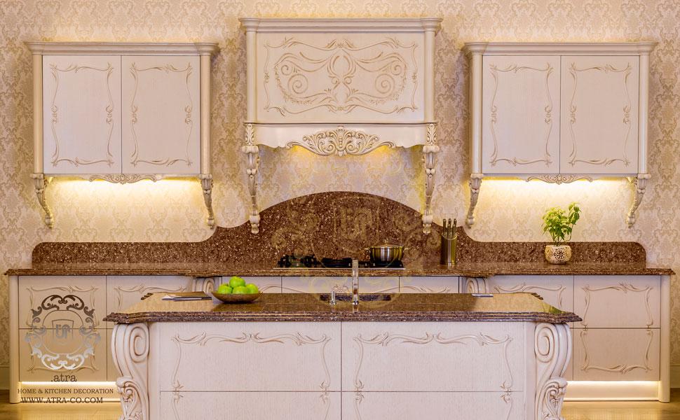 کابینت آشپزخانه مشهد مدل فلورانس